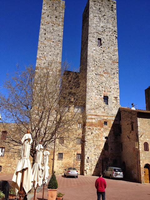 San gimignano en la Toscana
