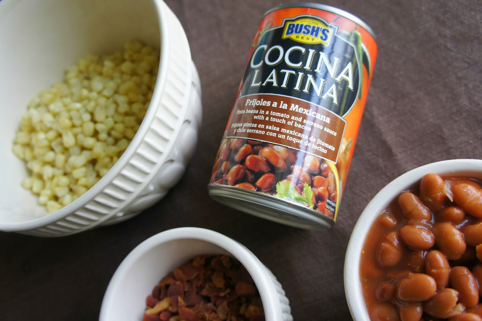 Pinto Bean Salad using Bush's Cocina Latina {plus 3 more bean appetizer recipes}