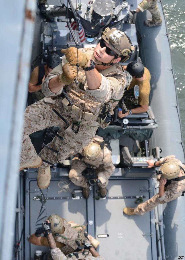 قوات البحرية الأميركية