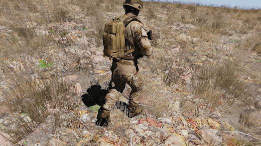 Arma3用Crye Gen3 Uniformsアドオン