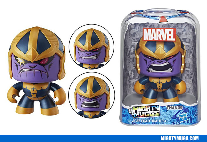 Thanos Marvel Mighty Muggs Wave 3 2018