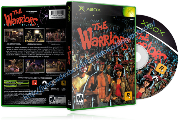 The warriors ntsc español ps2