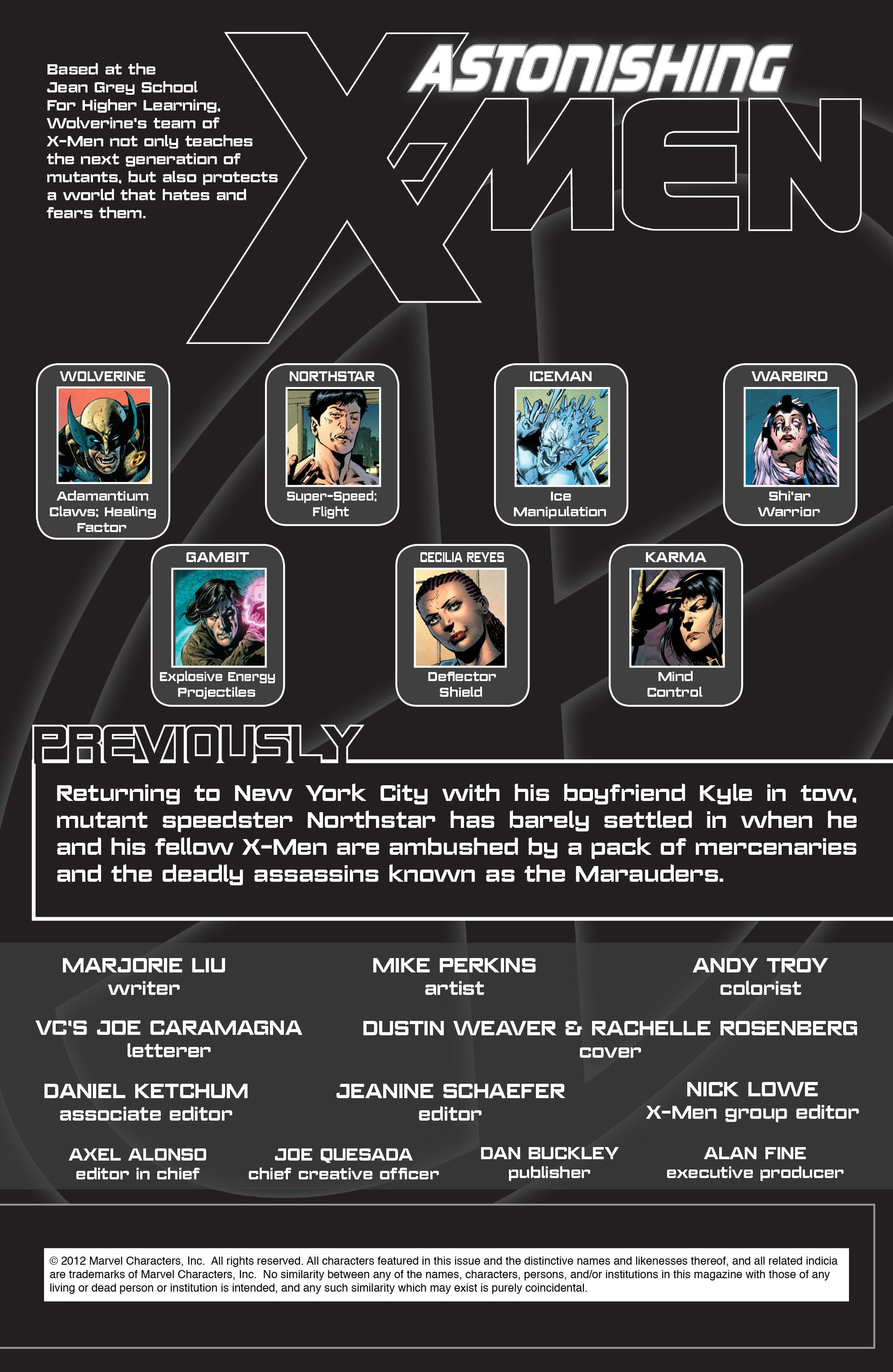 Read online Astonishing X-Men (2004) comic -  Issue #49 - 2