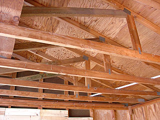 Tips Designing Roof Garage Truss, How To Insulate Garage Roof Trusses