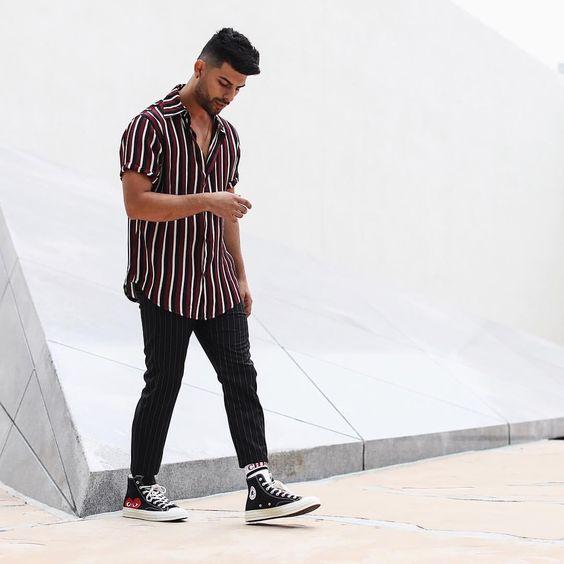 listras verticais moda masculina 2019