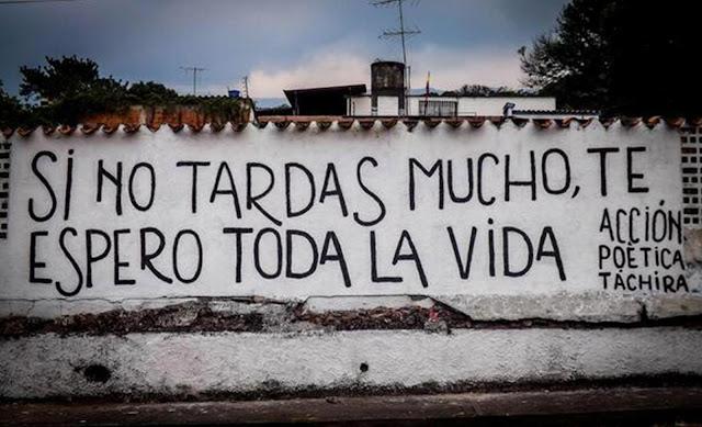 """""""SI NO TARDAS MUCHO TE ESPERO TODA LA VIDA"""", UN HERMOSO POEMA PARA COMPARTIR"""
