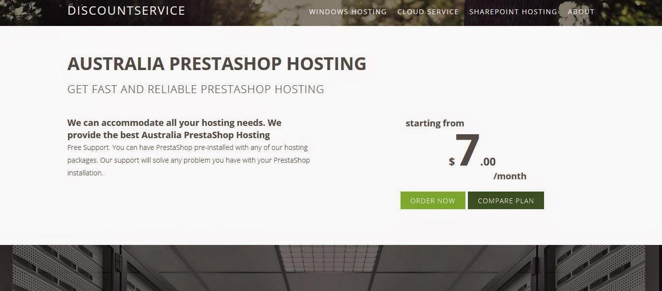 http://www.DiscountService.biz/Australia-PrestaShop-Hosting