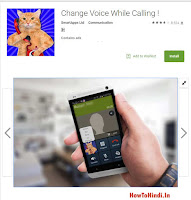 voice changing application