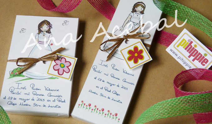 recordatorios comunion personalizados artesanales bonitos