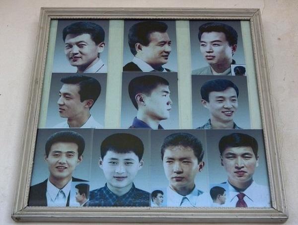 تسريحات شعر خاصة برجال كوريا الشمالية