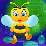 Games4King Happy Bee Rescue Walkthrough