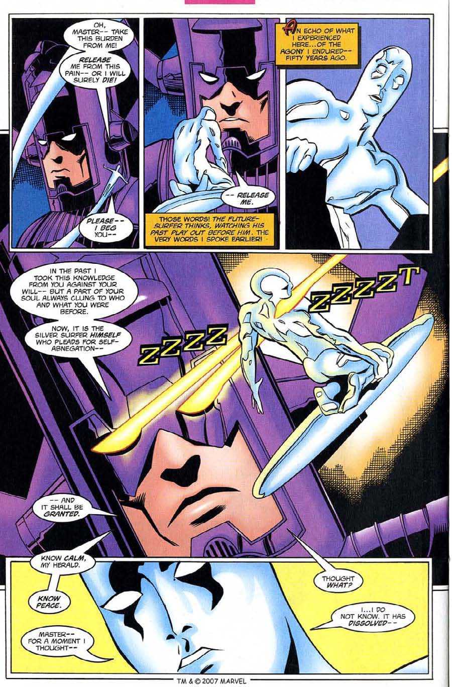 Read online Silver Surfer (1987) comic -  Issue #130 - 24