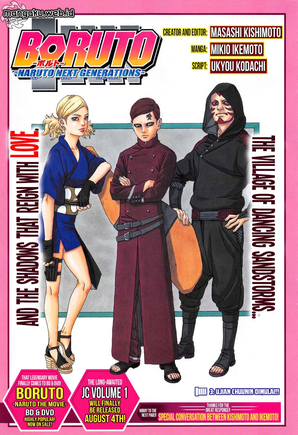 Boruto : Naruto Next Generation Chapter 3