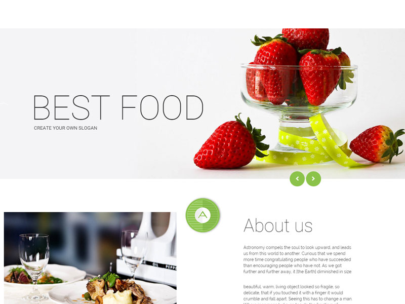 Freedownloadtemplates bootstrap restaurant templates mammas kitchen responsive bootstrap restaurant template which is designed with html5 css3 and the latest version of the great css framework bootstrap maxwellsz