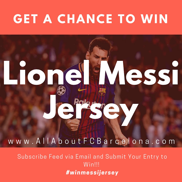 Enter Contest to Win Lionel Messi Jersey