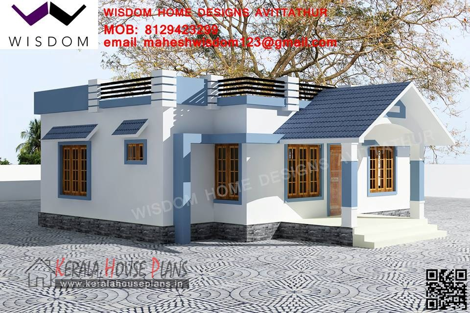 Small Budget Kerala  house Design and elevation