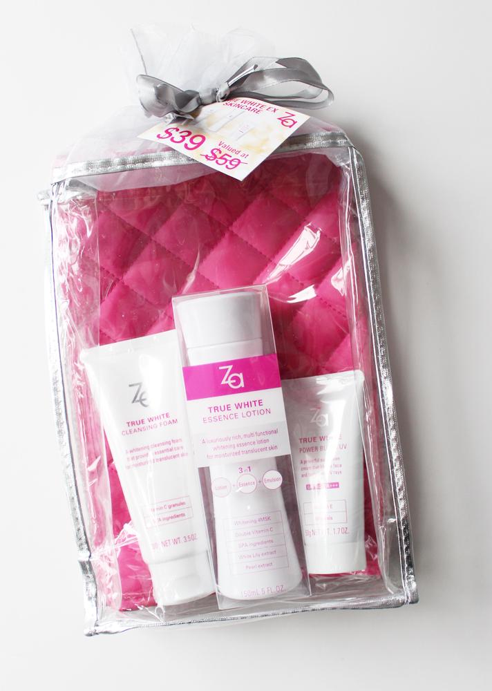 ZA COSMETICS // True White EX Skincare Christmas Gift Sets - CassandraMyee