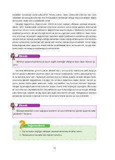 Sağlık Bilgisi ve Trafik Kültürü Ders Kitabı Cevapları Ada Yayınları Sayfa 15
