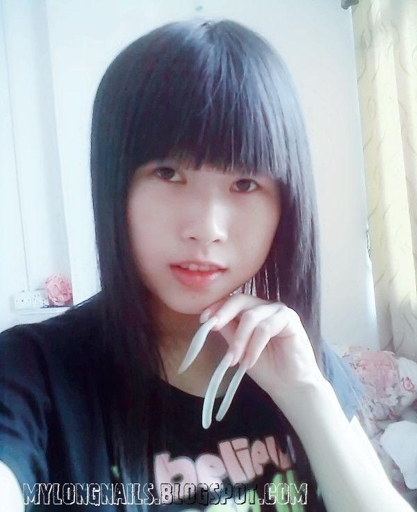 Asian long nails