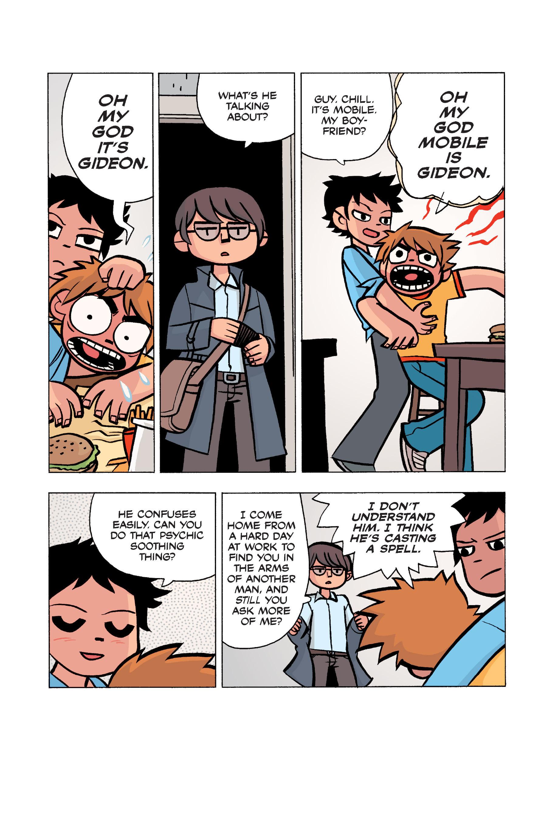 Read online Scott Pilgrim comic -  Issue #5 - 157