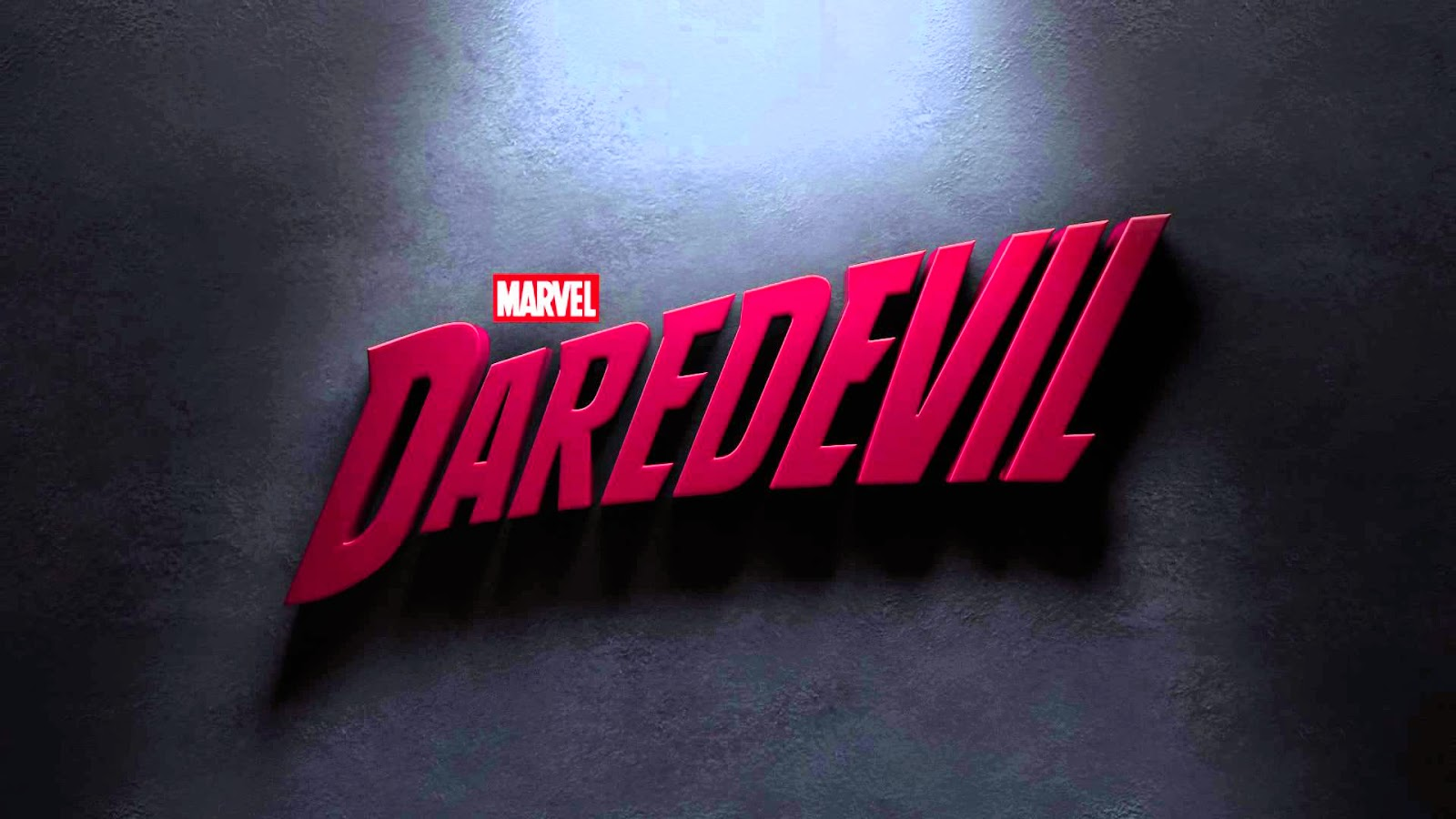 Netflix Daredevil series title card logo by Marvel
