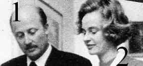 Johannes Heinrich de Saxe-Cobourg et Gotha et son épouse, née Mathilde  de Saxe