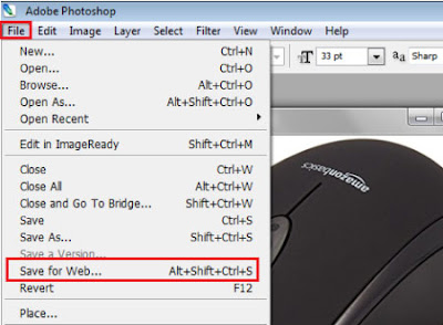 how to reduce image file size in photoshop