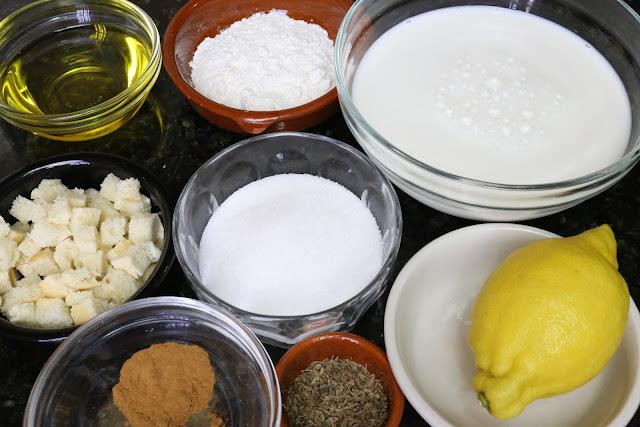 Ingredientes para gachas