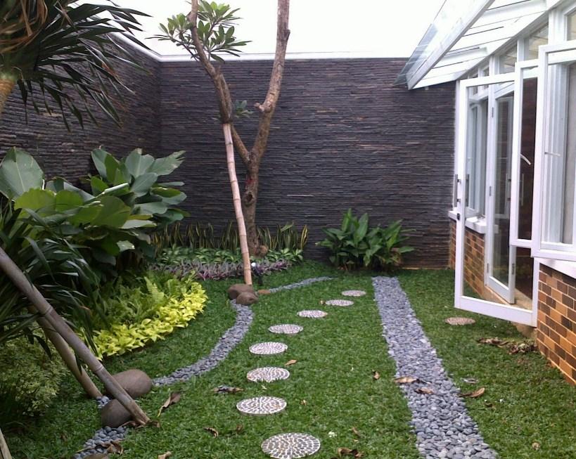 34 Desain Taman Belakang Rumah Minimalis Untuk Lahan