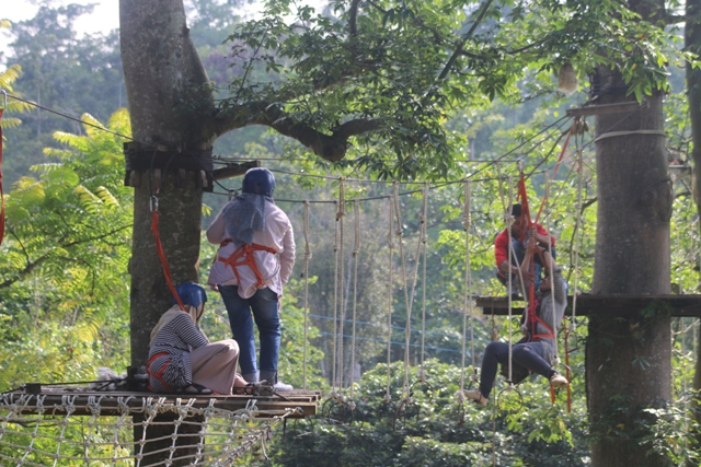 Highropes D'Emmerick Adventure Park Salatiga
