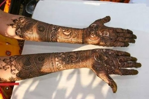 Mehndi Bridal Design Latest : Latest bridal mehndi designs