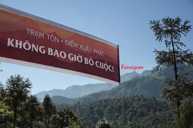 Bắt đầu hành trình từ Trạm Tôn, với độ cao 1900 m