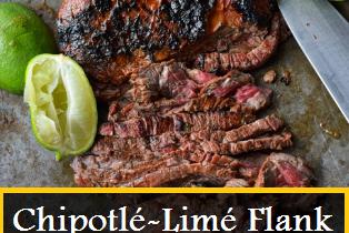 Chipotlé-Limé Flank Stéak Stréét Tacos
