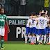 Palmeiras fica atrás duas vezes, mas empata com Cruzeiro