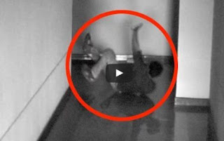 Ghost Attack Caught On CCTV Camera