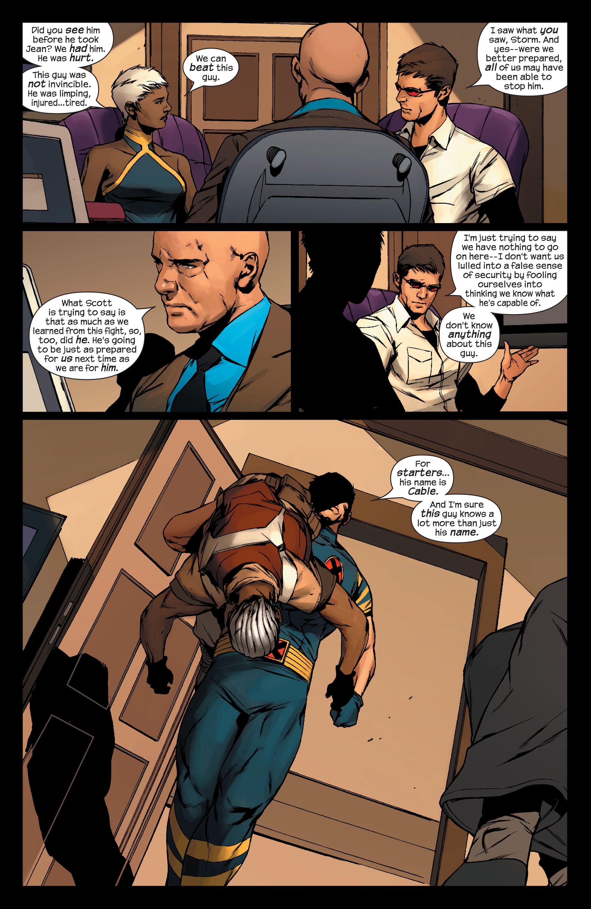 Read online Ultimate X-Men comic -  Issue #76 - 20