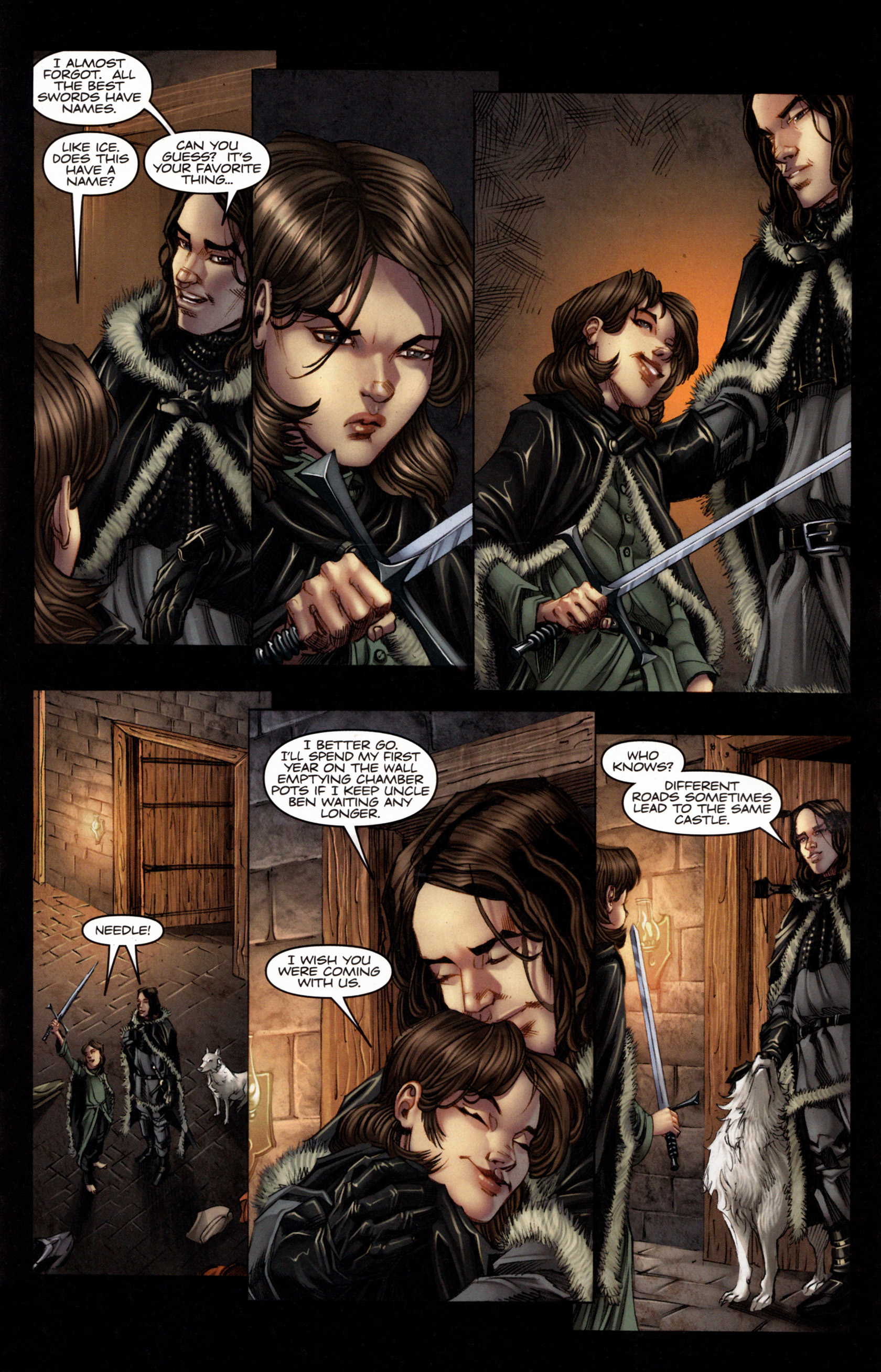 Read online A Game Of Thrones comic -  Issue #4 - 9