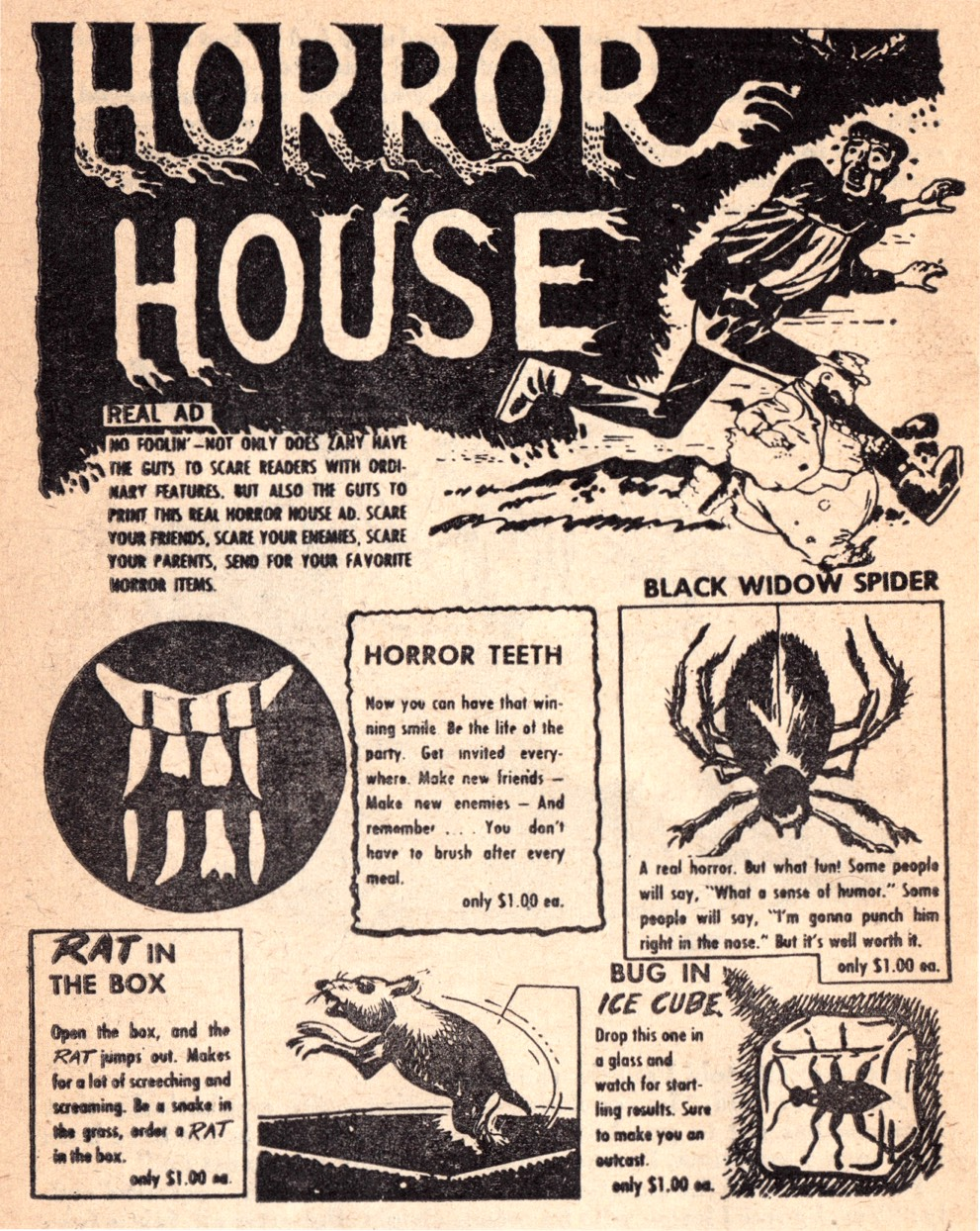 and everything else too: Horror House - Real Ad!