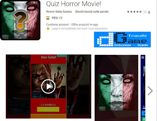 Soluzioni Quiz Horror Movie | Tutti i livelli risolti con screenshot soluzione