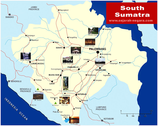 image: South Sumatra Map High Resolution