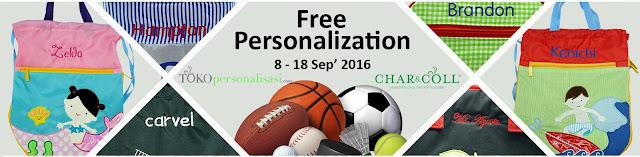 Free Biaya Personalisasi