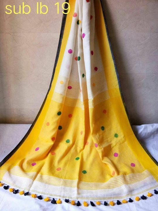Latest Lenin Buti Saree Design