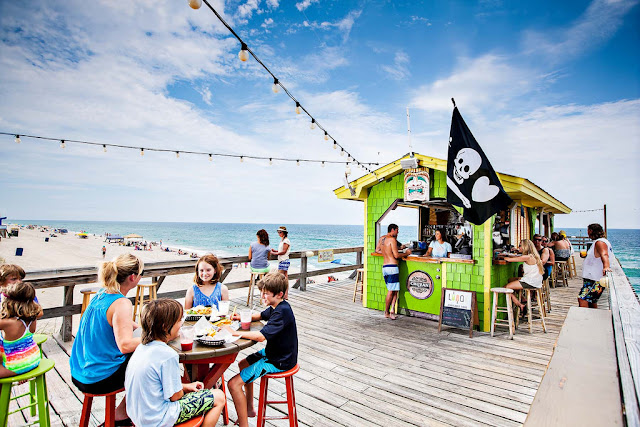 The Tiki Bar at Carolina Beach