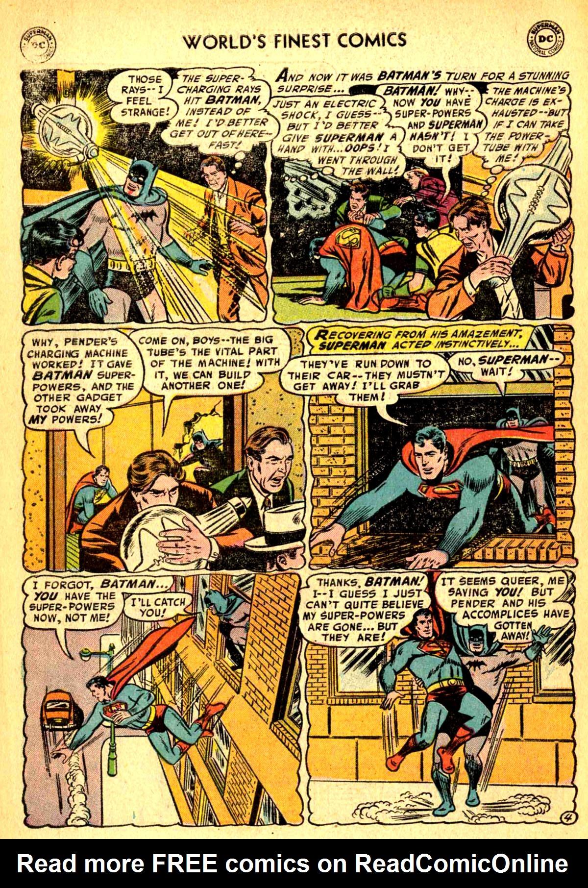 Read online World's Finest Comics comic -  Issue #77 - 6