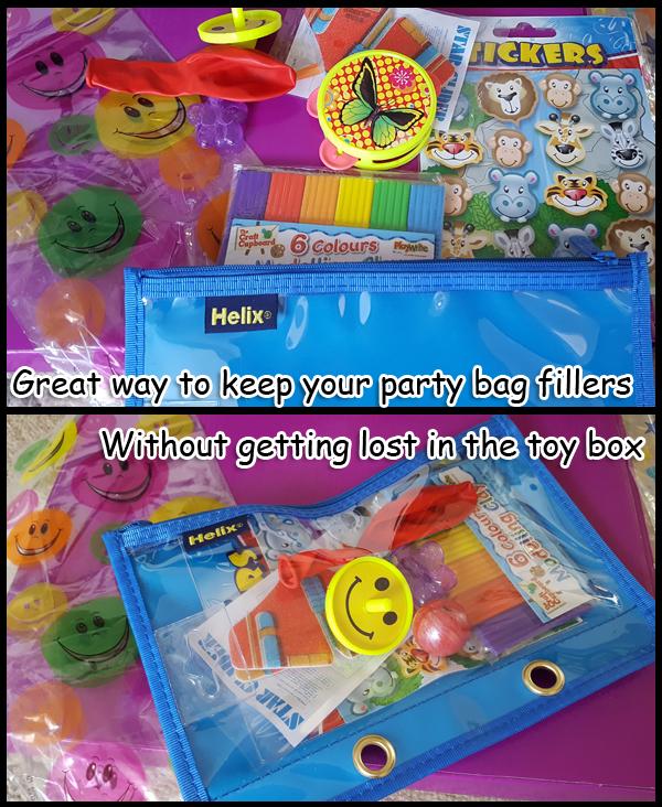 What to do with the small party bag filler toys