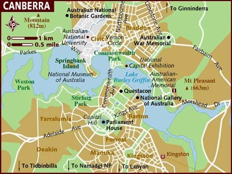 IMAGES HD: Australian state map canberra