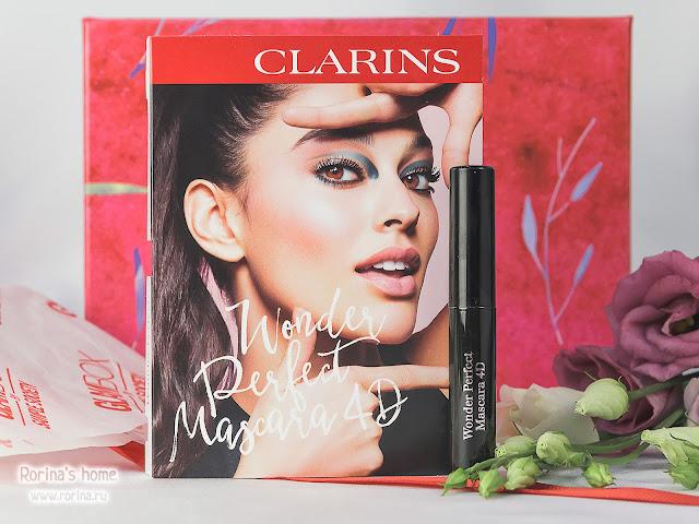 Clarins Тушь для ресниц с эффектом 4D Wonder Perfect Mascara 4D: отзывы