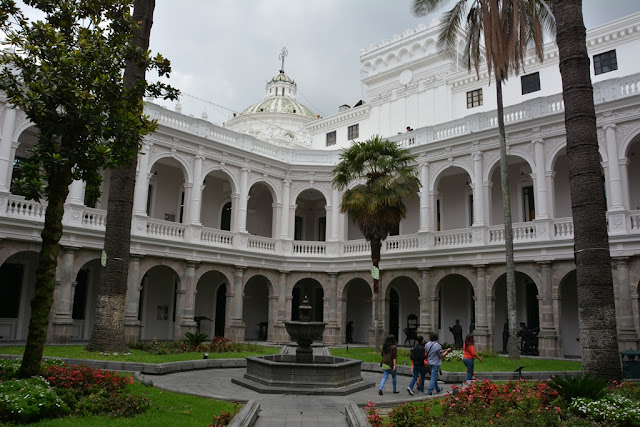 National Library Quito