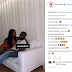 """""""It's about you all week,"""" -Davido's girlfriend, Chioma tells him as she shares new loved up photo of them"""
