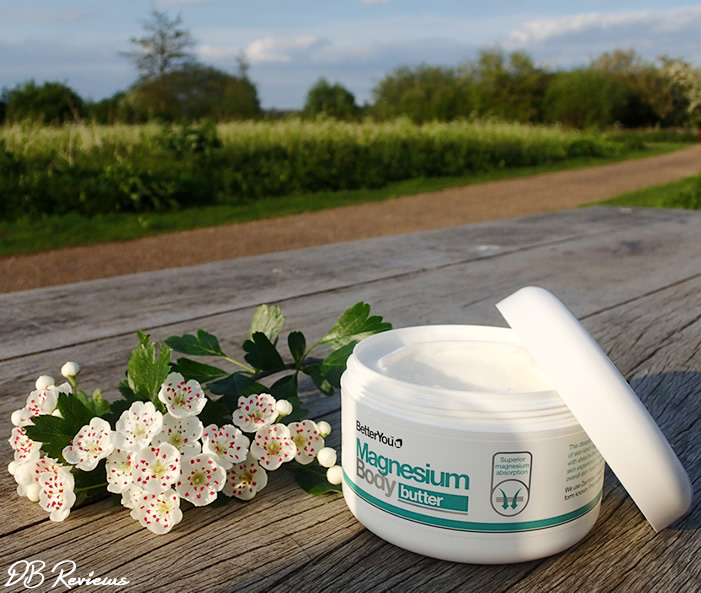 Magnesium Rich Body Butter and Lotion from BetterYou